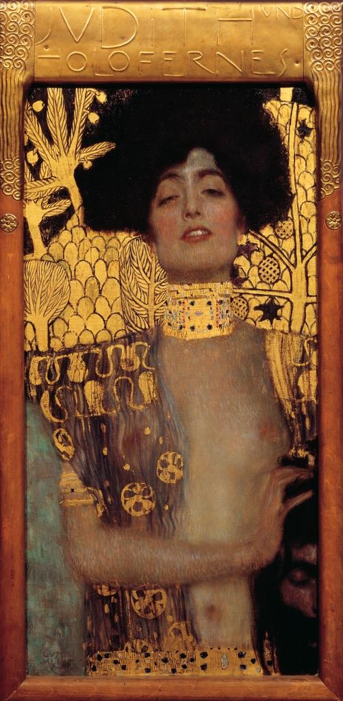Gustav Klimt Judith I, 1901. Olio su tela 84 x 42 cm https://goo.gl/M4u7d5